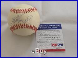 Ken Griffey Jr Mariners Reds Hof Autographed Signed Baseball Psa/dna Holo Coa 1a