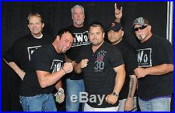 Kevin Nash Signed Event Worn Used NWO Shirt PSA/DNA COA Autograph WWE WCW Auto'd