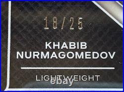 Khabib Nurmagomedov Auto Panini 2021 UFC Champion Signatures MOJO Prizm PSA 10