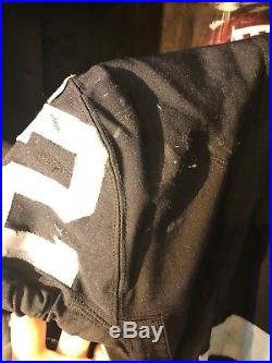 Khalil Mack Game Worn 11/15/15 PSA DNA COA Autographed Jersey 1/1 Auto Raiders