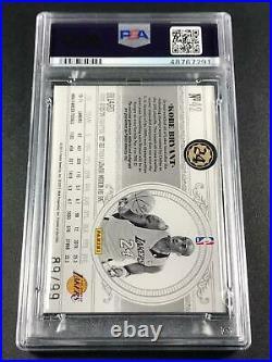 Kobe Bryant 2010 National Treasures Century Materials Jersey /99 Psa/dna 10 Auto