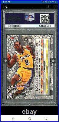 Kobe Bryant Auto 1996 Fleer Metal Rookie Card Auto PSA 10 POP 1 ROOKIE