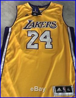 Kobe Bryant Auto Autograph Signed Nba Swingman #24 Jersey Coa Psa/dna Lakers Hof