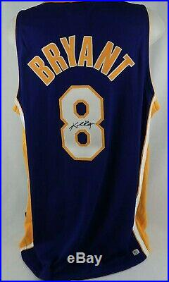 Kobe Bryant Autographed Nike Authentics Jersey PSA/DNA Rare Full Signature HOF