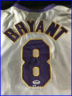 Kobe Bryant Rare Lot Psa Dna Autographed Jersey With Psa 9 10 Topps Fleer & More