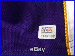 Kobe Bryant Signed Autographed AUTHENTIC NIKE dri-fit Lakers Jersey PSA/DNA ITP