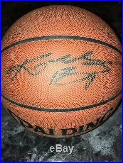 Kobe Bryant Signed Basketball Autograph 24 Lakers PSA DNA STICKER ONLY AUTHENTIC
