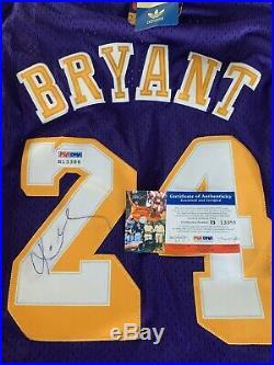 Kobe Bryant Signed Hardwood Classics Jersey/PSA DNA COA Authentic Autograph #24
