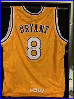 Kobe Bryant Signed Jersey Psa Dna Autographed
