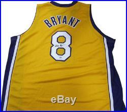 Kobe Bryant Signed Lakers #8 Rookie Era Jersey Full autograph PSA DNA coa