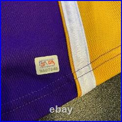 Kobe Bryant Signed Nike Authentic Los Angeles Lakers Jersey Beckett & PSA DNA
