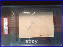 LARRY FINE-The Three 3 Stooges-Signed/Autographed PSA/DNA Certified -see photos