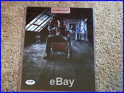 Leaf Pop Century Johnny Depp 8x10 Signed Autograph Photograph Photo Auto PSA/DNA
