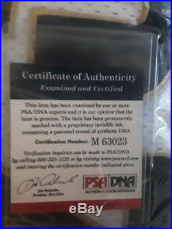 Lebron James Autographed Jersey with Certification of Authenticity by PSA/DNA