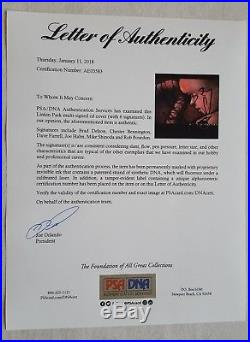 Linkin Park Chester Bennington Autographed Hybrid Theory EP CD PSA/DNA Rare