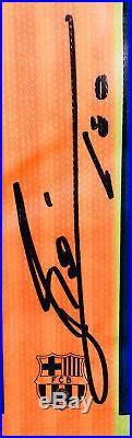 Lionel Leo Messi Signed Autographed Barcelona Soccer Jersey PSA/DNA