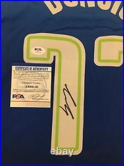 Luka Doncic Autographed Signed Dallas Mavericks Jersey PSA/DNA