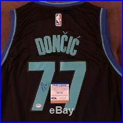 Luka Doncic Signed Jersey Dallas Mavericks Autographed Auto XL New + PSA DNA COA