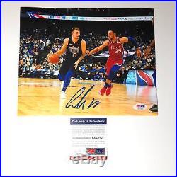 Luka Doncic signed 8x10 photo PSA/DNA Dallas Mavericks Autographed