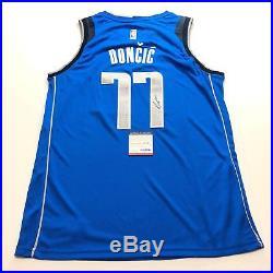 Luka Doncic signed jersey PSA/DNA Dallas Mavericks Autographed Dirk Nowitzki