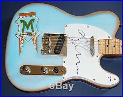 MADONNA Autograph Signed Guitar with EXACT PROOF PSA DNA AUTHENTIC STUNNING