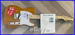 MICK JAGGER THE ROLLING STONES SIGNED AUTOGRAPHED CUSTOM GUITAR WithPROOF PSA/DNA