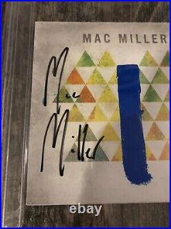 Mac Miller Signed Blue Slide Park CD Psa/dna Coa Encapsulated Rapper Autographed