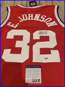 db2ea2676 Magic Johnson Autographed Signed Jersey PSA DNA Los Angeles Lakers LA Earvin