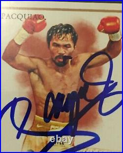 Manny Pacquiao Autographed 2011 Allen & Ginter. Cigar In Mouth PSA/DNA CERTIFIED