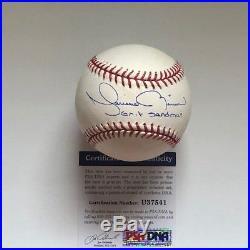 Mariano Rivera Exit Sandman Signed Baseball Autograph PSA/DNA COA NY Yankees