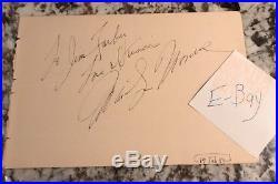 Marilyn Monroe Vintage SIGNED Autograph PSA PSA/DNA COA