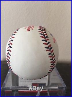 Max Scherzer Autographed Signed Baseball All Star Psa Dna