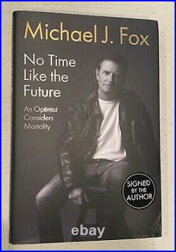 Michael J Fox Signed No Time Like The Future 1st Ed H/c Book Autograph Psa/dna