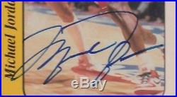 Michael Jordan 1986 Fleer Rookie Sticker Signature Autograph Auto RC UDA PSA/DNA