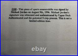 Michael Jordan 1992 Upper Deck #23 Signed Autograph Auto PSA/DNA UDA Upper Deck