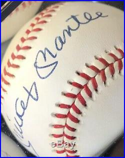 Mickey Mantle Autographed Baseball PSA/DNA Certified Autograph Grade 9