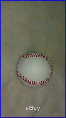Mickey Mantle Autographed Baseball-psa/dna-rare No. 7 Inscription! Hi Grade