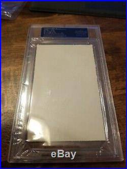 Mickey Mantle Cut Auto Autograph All My Octobers PSA DNA