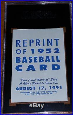 Mickey Mantle signed 1952 Topps #311 SGC PSA/DNA 1991 EC Nat'l auto autographed