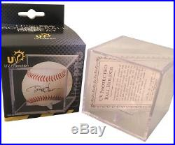 Mike Trout Los Angeles Angels Autographed MLB Authentic Signed Baseball PSA DNA