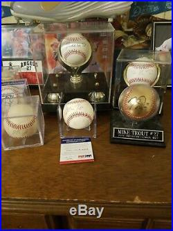 Mike Trout ROOKIE ERA AUTOGRAPHED Rawlings OML Baseball PSA/DNA