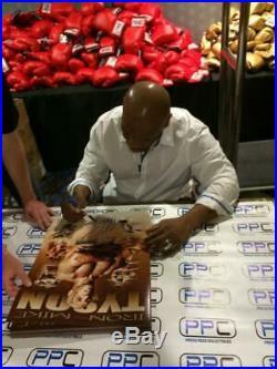 Mike Tyson Signed Authentic 16X20 Ltd Ed. Collage Photo Autographed PSA/DNA ITP