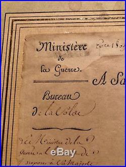 NAPOLEON BONAPARTE PSA/DNA AUTOGRAPH War Manuscript SIGNED Emperor France
