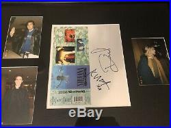 Nirvana Signed Autograph Nevermind By All 3 Kurt Cobain Krist Dave Grohl PSA/DNA