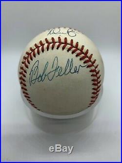 Nolan Ryan Bob Feller Sandy Koufax Signed Autograph OMLB Baseball PSA DNA
