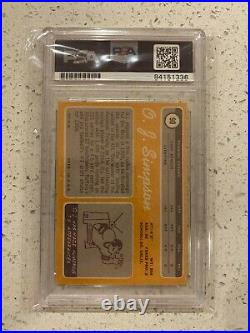O. J. Simpson Signed 1970 Topps #90 Rookie Card HOF Legen PSA/DNA Certified