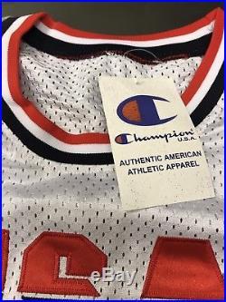 Olympic USA Dream Team Michael Jordan autograph jersey PSA/DNA PSA SIGNED