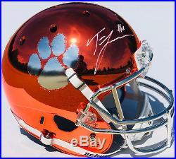 PSA/DNA Clemson #16 TREVOR LAWRENCE Signed Autographed CHROME Football Helmet