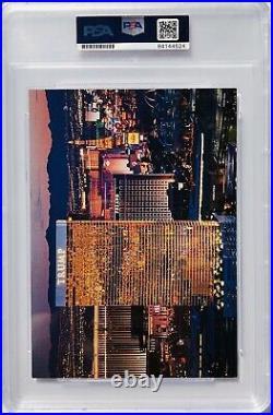 PSA/DNA President DONALD TRUMP Signed Autographed MAKE AMERICA GREAT Postcard