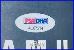 PSA/DNA Real Slim Shady EMINEM Autographed Signed Framed RELAPSE Poster RAP ICON